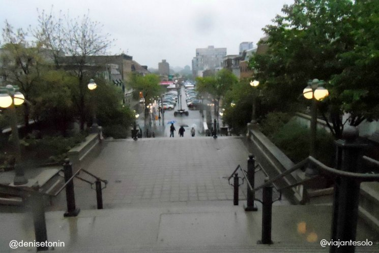 A caminho de ByWard Market Ottawa |Viajante Solo