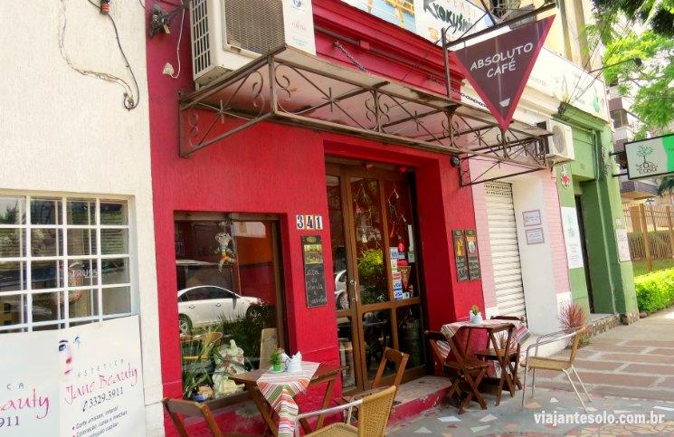 Absoluto Café Facahada | Viajante Solo
