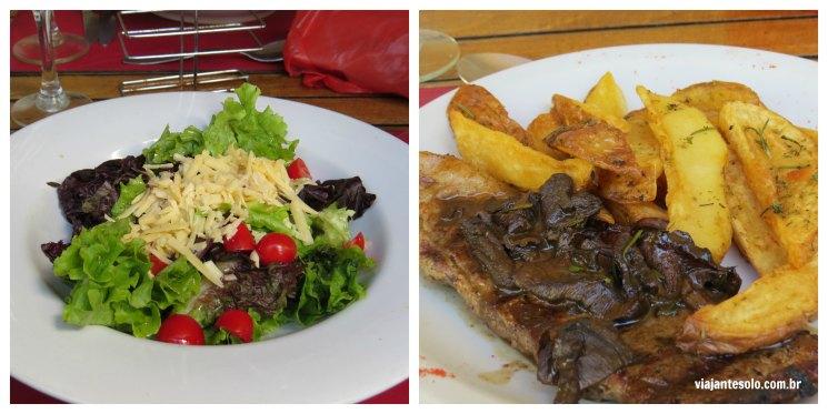 Almoço Villa Julia Tigre | Viajante Solo