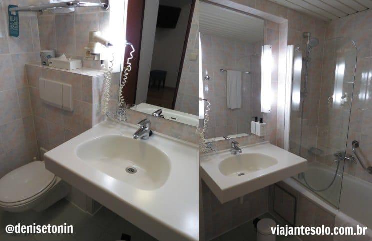 Banheiro Scandic Grand Place