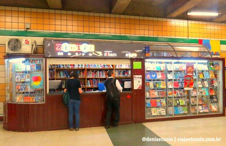 BiblioMetrô em Santiago | Viajante Solo