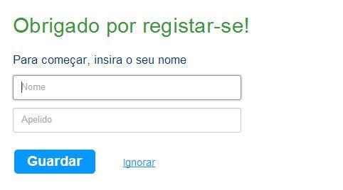 Tela Booking Obrigado por Registrar-se | Viajante Solo
