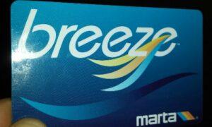 Breeze-Cartão Metro Atlanta