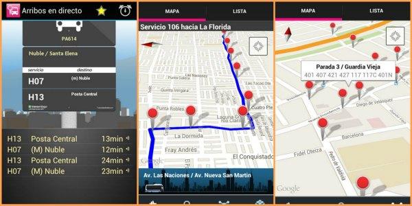 Bus Checker App Telas | Viajante Solo