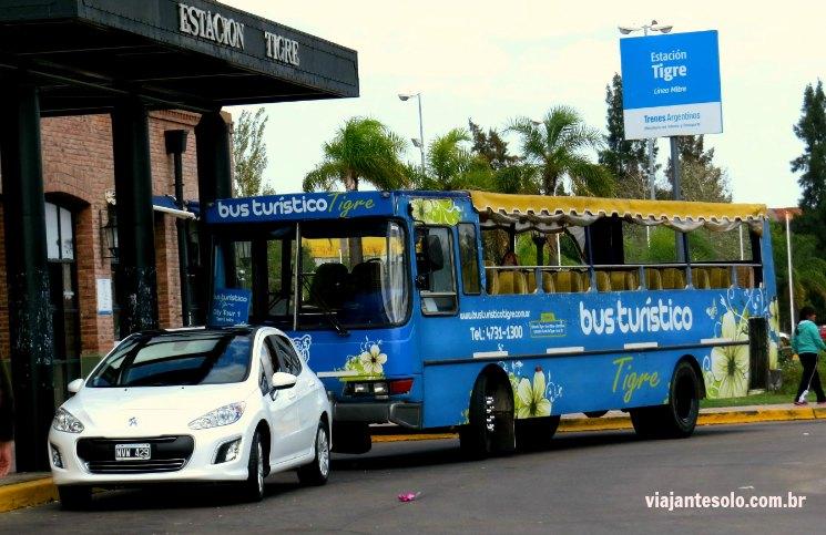 Bus Turistico Tigre | Viajante Solo