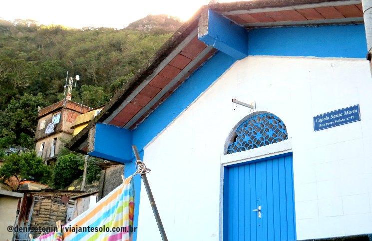 Capela Santa Marta | Viajante Solo