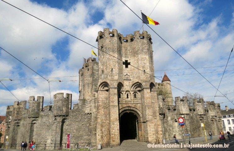 Castel of the counts em Ghent | Viajante Solo