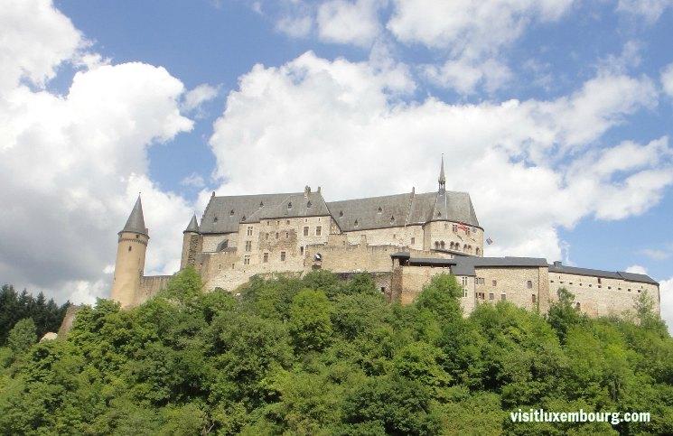 Castelo Vianden Luxembourgo | Viajante Solo