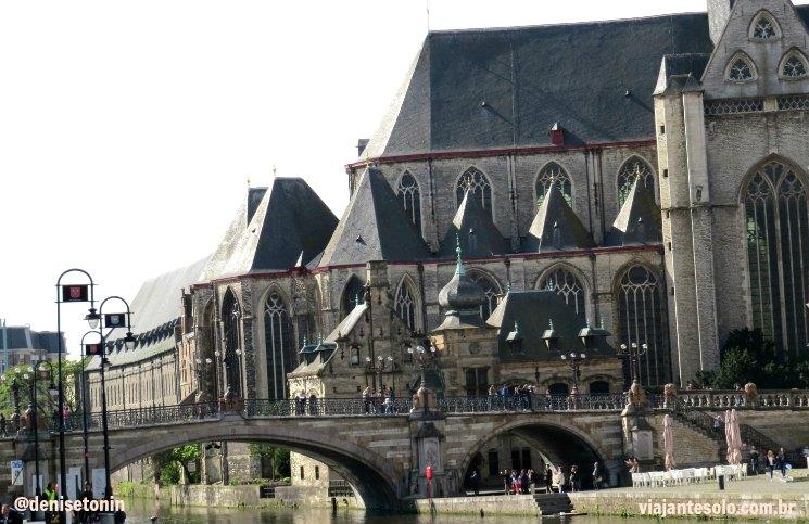 Castle of Gerald the Devil Ghent | Viajante Solo