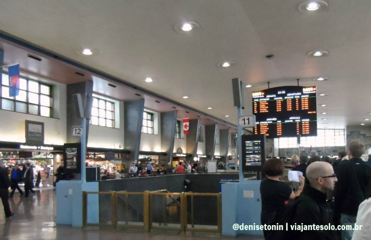 Central Station Montreal   Viajante Solo