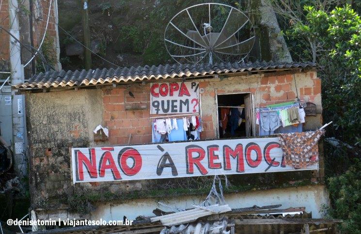 Copa de quem? Favela Santa Marta | Viajante Solo