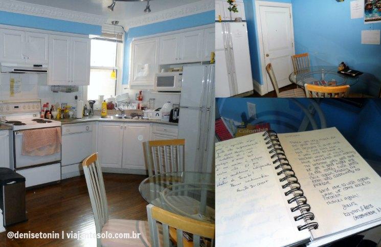 Cozinha Comfy Guest House Viajante Solo