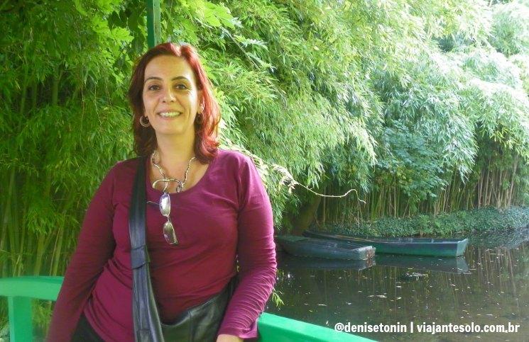 Denise Tonin Jardim de Monet | Viajante Solo