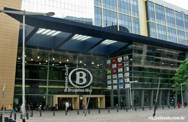 Estação Bruxelles Midi | Viajante Solo