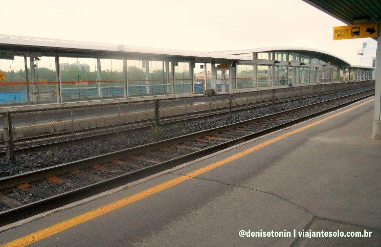 Estação Burlington | Viajante Solo