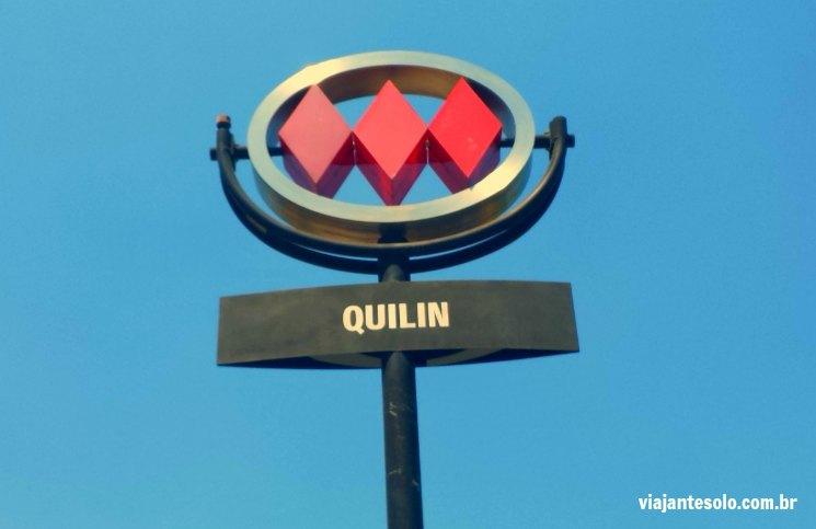 Estação Quilin Metrô Santiago | Viajante Solo