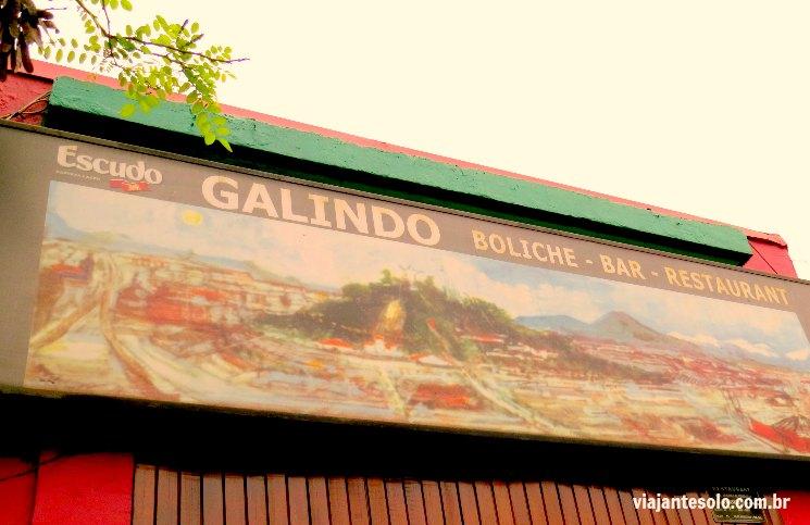 Fachada Restaurante Galindo Santiago | Viajante Solo