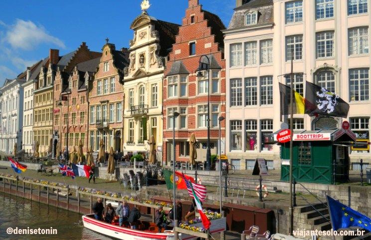 Graslei Ghent | Viajante Solo