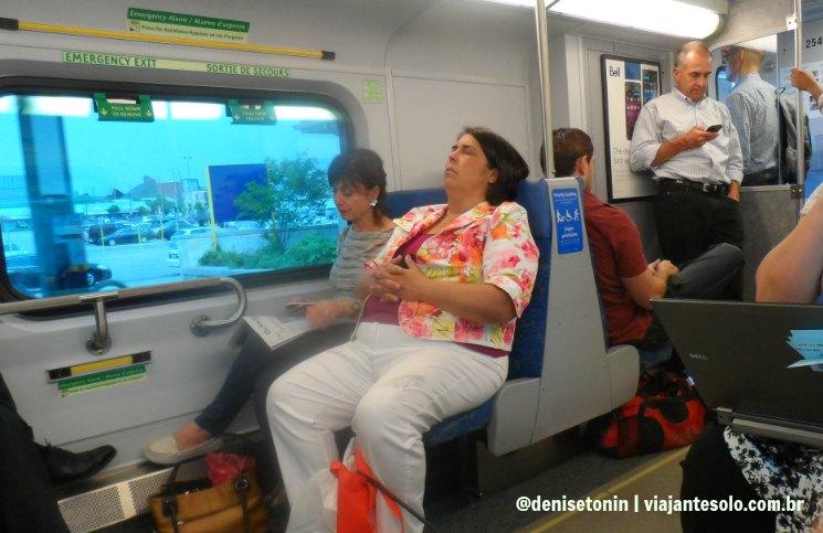 Interior do Go Transit Trem | Viajante Solo