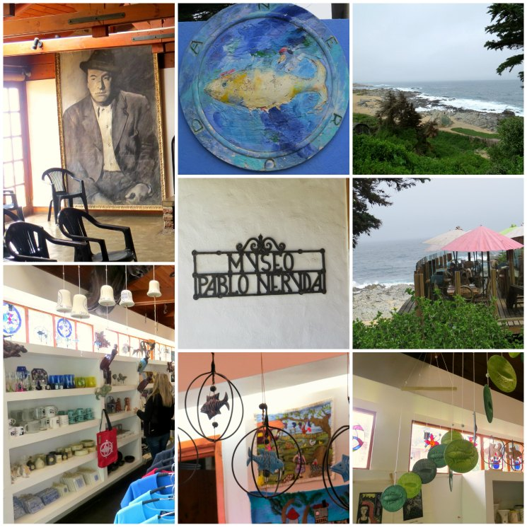 Isla Negra Colagem | Viajante Solo
