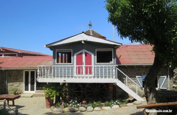 Isla Negra Entrada da Casa | Viajante Solo