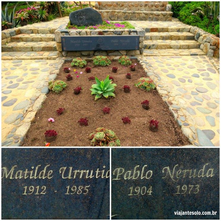 Isla Negra Sepultura Pablo Neruda | Viajante Solo