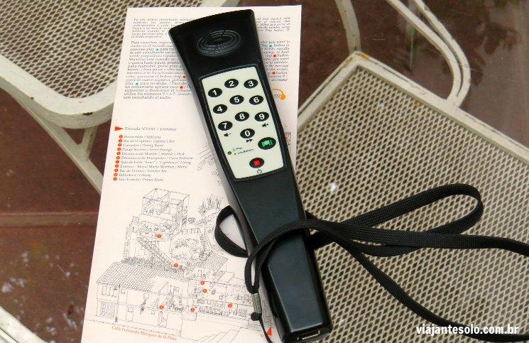 La Chascona Audioguia em Português | Viajante Solo
