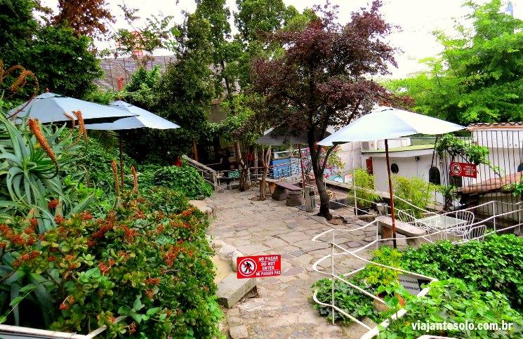 La Chascona Jardim | Viajante Solo