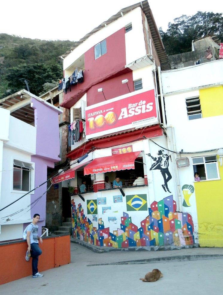 Laje Michael Jackson na Favela Santa Marta | Viajante Solo