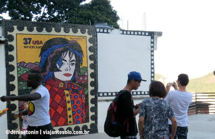 Laje Michael Jackson Favela Santa Marta | Viajante Solo