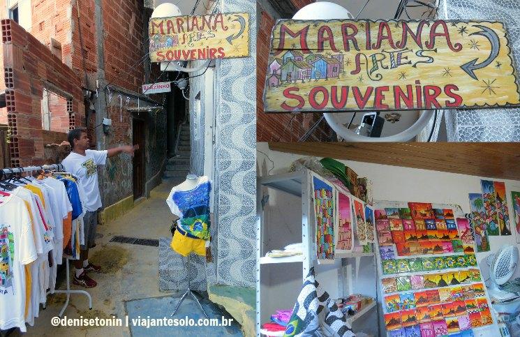 Loja Favela Santa Marta | Viajante Solo
