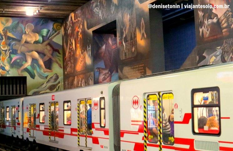 Viajar Sozinha para Santiago: Metrô de Santiago arte, literatura e expressões da cultura urbana | Viajante Solo
