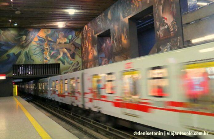 Metrô em Santiago do Chile tudo o que você precisa saber | Viajante Solo