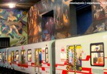 Metrô de Santiago arte, literatura e expressões da cultura urbana | Viajante Solo