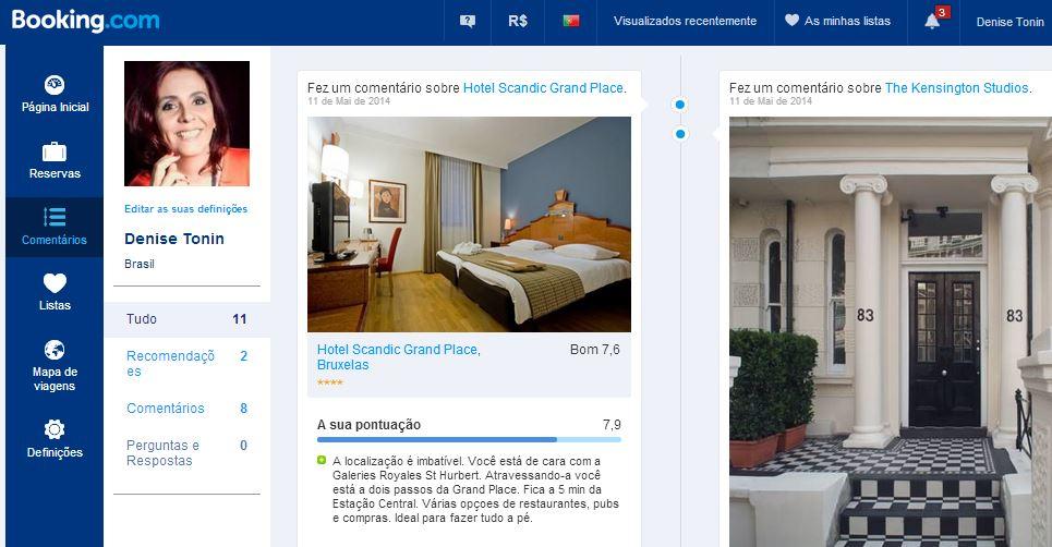 Pagina Comentarios Booking | Viajante Solo