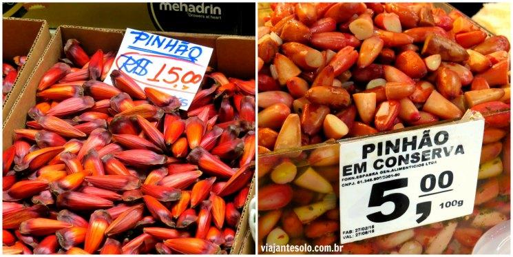 Pinhao Mercadao Sao Paulo | Viajante Solo