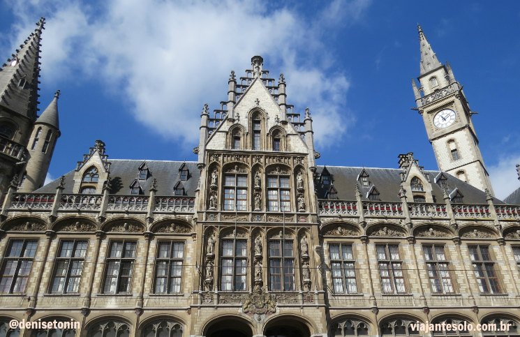 Post Office Ghent |Viajante Solo