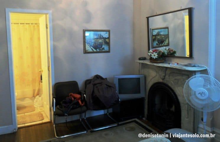 Quarto Sala Comfy Guest House | Viajante Solo