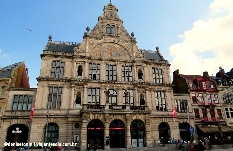 Royal Dutch Theatre Ghent | Viajante Solo