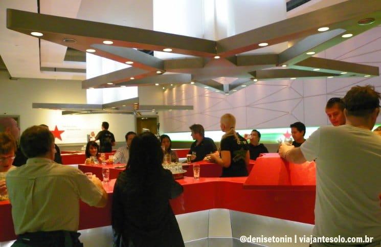 Sala Degustação Heineken | Viajante Solo