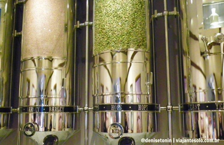 Sala Ingredienetes Heineken | Viajante Solo