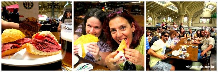 Sanduiche de Mortadela e Blogueiros Mercadao SP | Viajante Solo