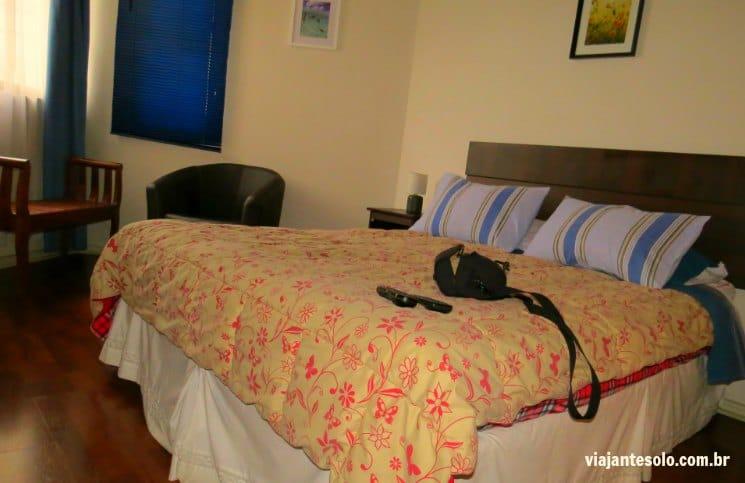 Santiago Centro Rent Apart Quarto | Viajante Solo