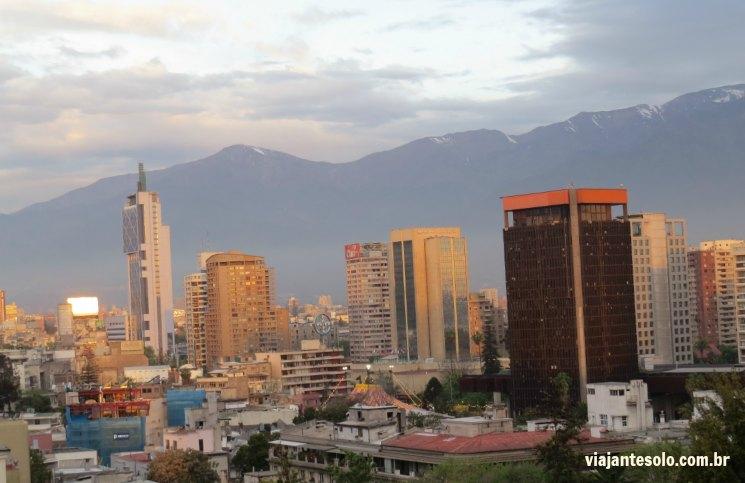 Santiago Centro Rent Apart Vista Cidade | Viajante Solo