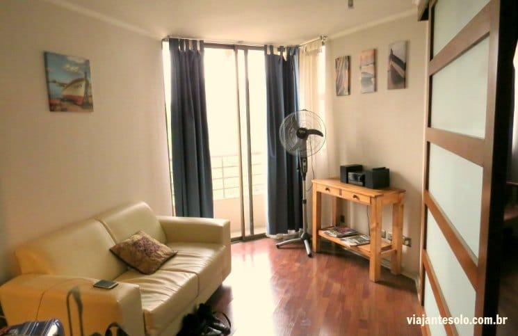 Santiago Centro Rent ApartSala | Viajante Solo