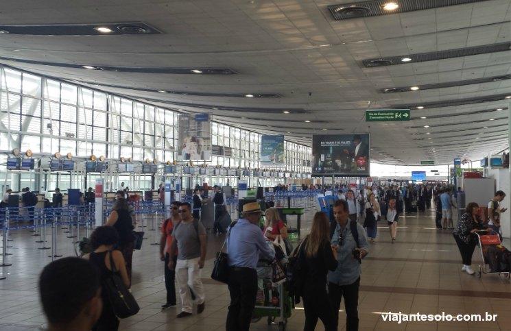 Como ir do aeroporto ao centro da cidade de Santiago
