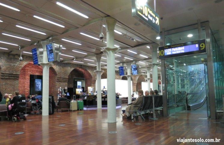 St Pancas Apos Check In Eurostar | Viajante Solo
