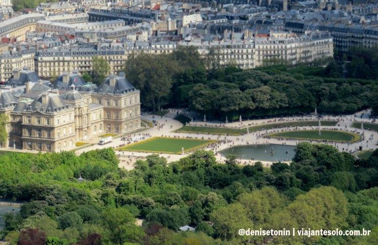 Tour Montparnasse Jardin de Louxembourg_Viajante Solo