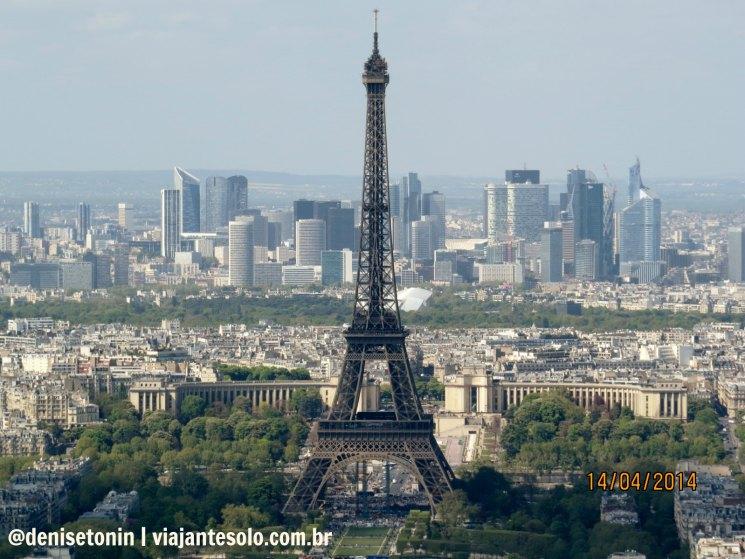 Tour Montparnasse Vista Tour Eiffel_Viajante Solo