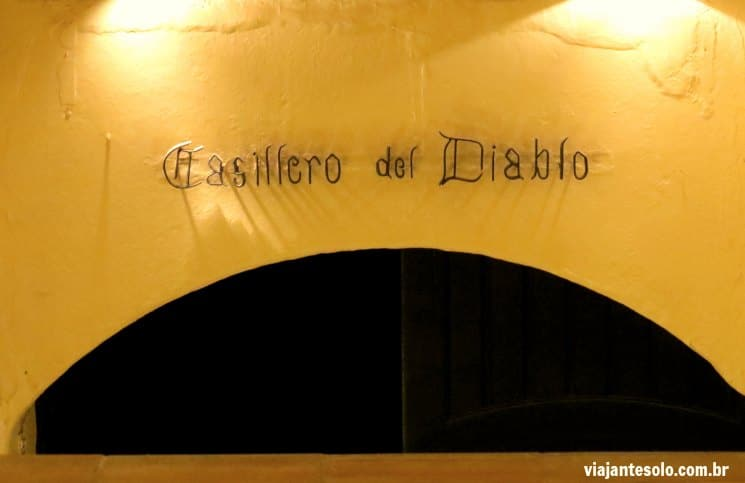 Viña Concha Y Toro Entrada Bodega Casillero del Diablo | Viajante Solo